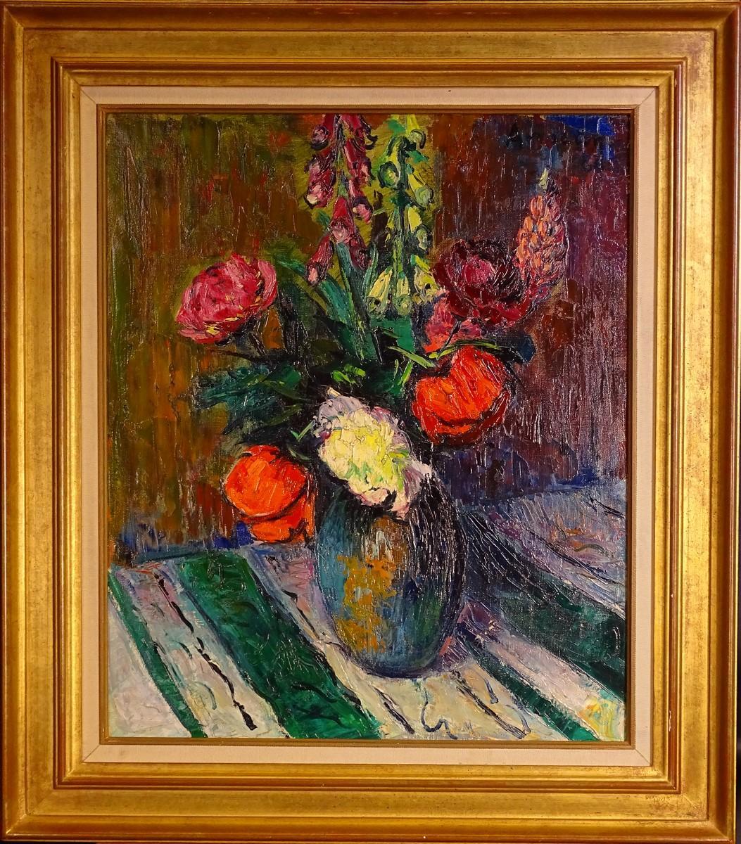 Tableau hst bouquet fleuri sign eon aim for Bouquet fleuri